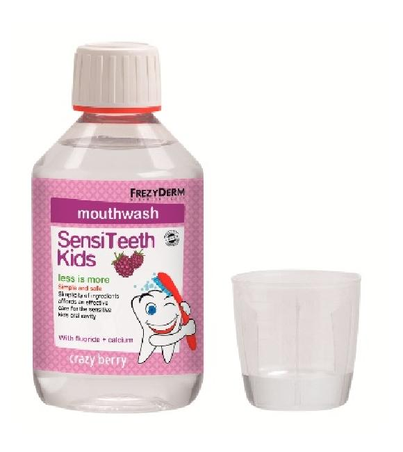 Frezyderm Sensiteeth Kid\'s Mouthwash 250ml