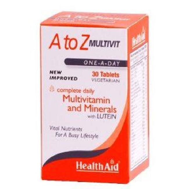 HEALTH AID A TO Z MULTIVITAMIN, 30TABS