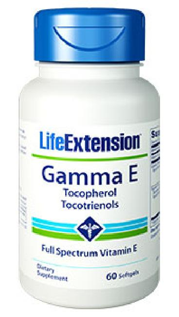 LIFE EXTENSION GAMMA E TOCOPHEROL SESAME LIG. 60 SOFTGELS