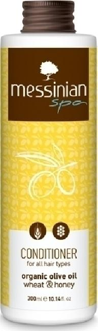 Messinian Spa Conditioner All Types Wheat-Honey (Σιτάρι-Μέλι) 300ml