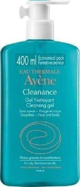 Avene Cleanance Gel Nettoyante 400ml