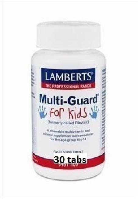 Lamberts Multi Guard For Kids, 30 tabs