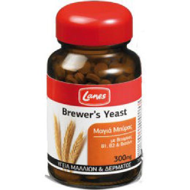 Lanes Brewers Yeast 400 Tablets Red