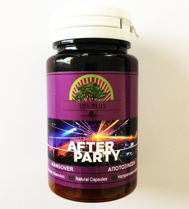 101 Plus After Party ( Hang Over ) , 60 Caps