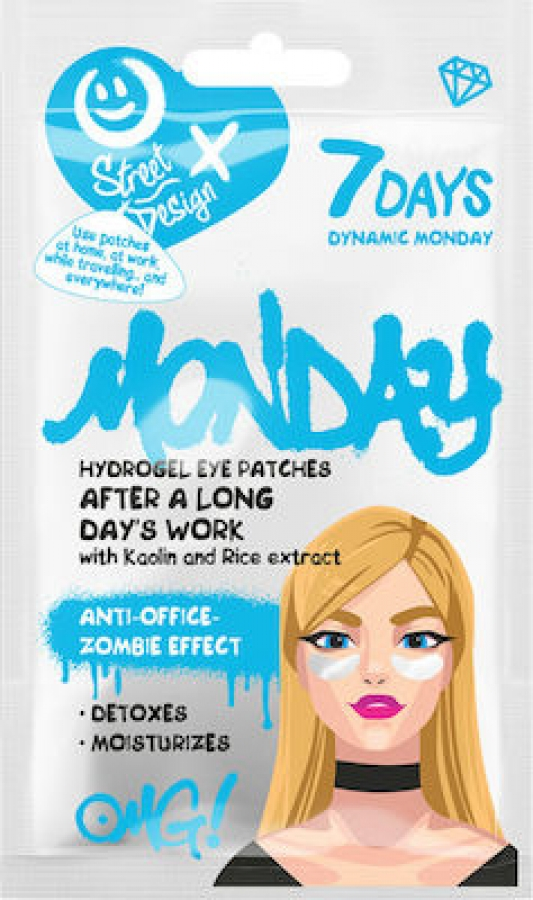 7DAYS Dynamic Monday Hydrogel Eye Patches 2.5gr