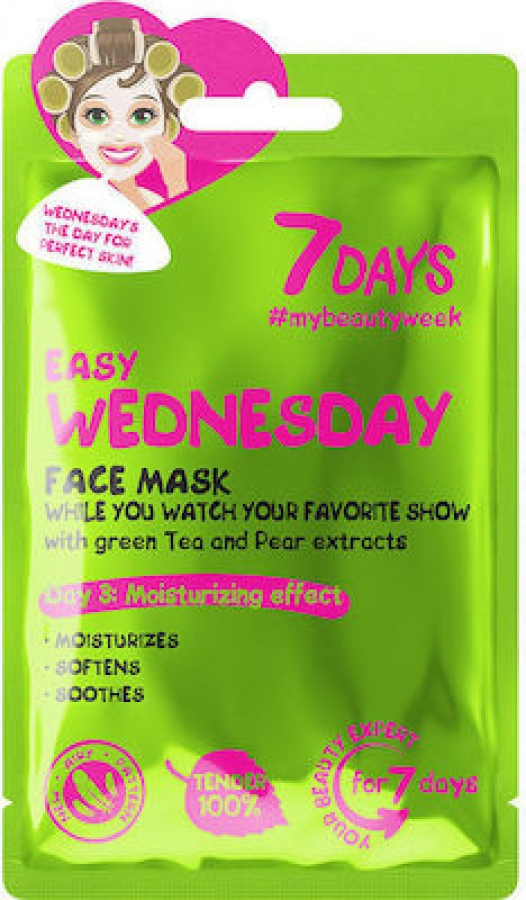 7DAYS Easy Wednesday Sheet Mask 28gr