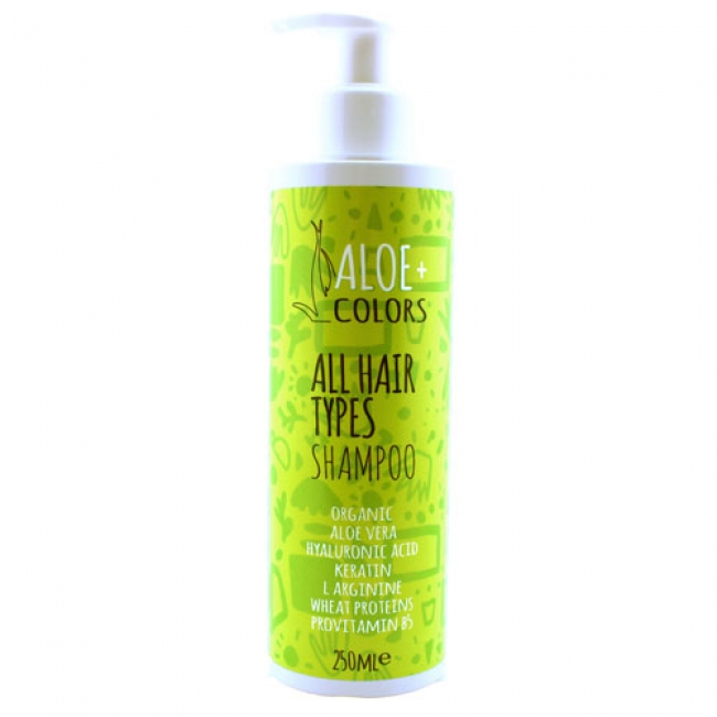 Aloe+ Colors All Hair Types Shampoo 250ml