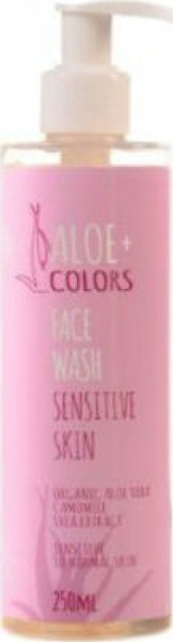 Aloe+ Colors Face Wash Sensitive Skin 250ml