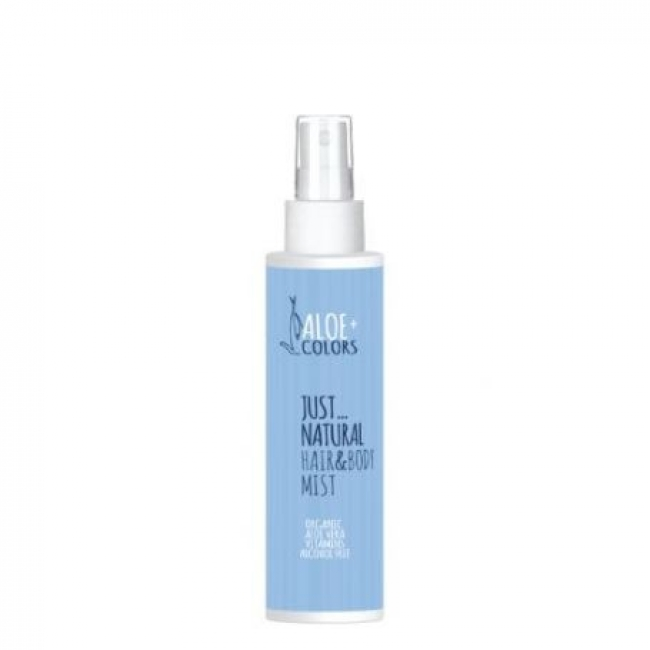 Aloe+ Colors Just Natural Hair & Body Mist Αρωματικό Σπρέι Φρεσκάδας 100ml