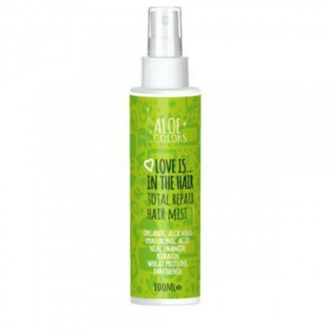 Aloe+ Colors Love Is In The Hair Total Repair Hair Mist 100ml