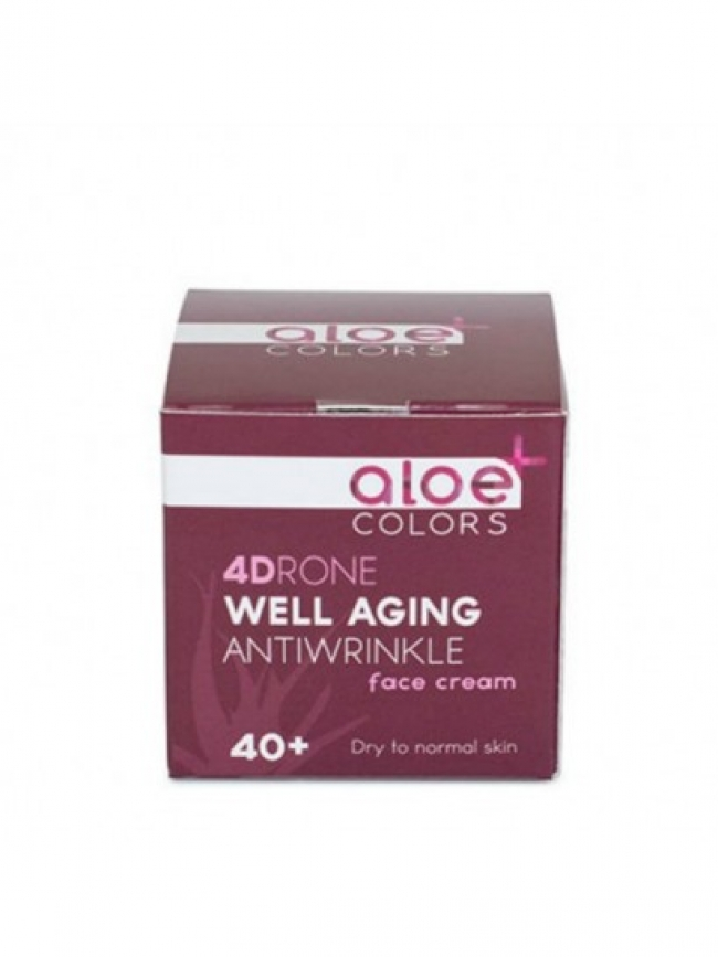 Aloe+ Colors Well Aging Antiwrinkle Face Cream 50ml