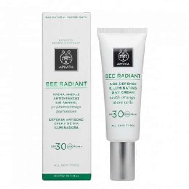 Apivita Bee Radiant Day Cream SPF 30 ,40ml