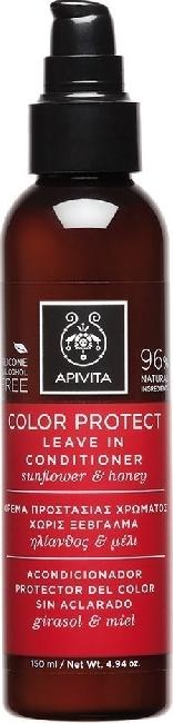 Apivita Color Protect Leave In Conditioner Με Ηλίανθο & Μέλι 150ml