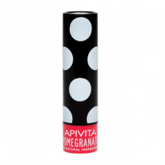 Apivita Lip Care Pomegranate Balm Χειλιών Με Ρόδι, 4.4 Gr