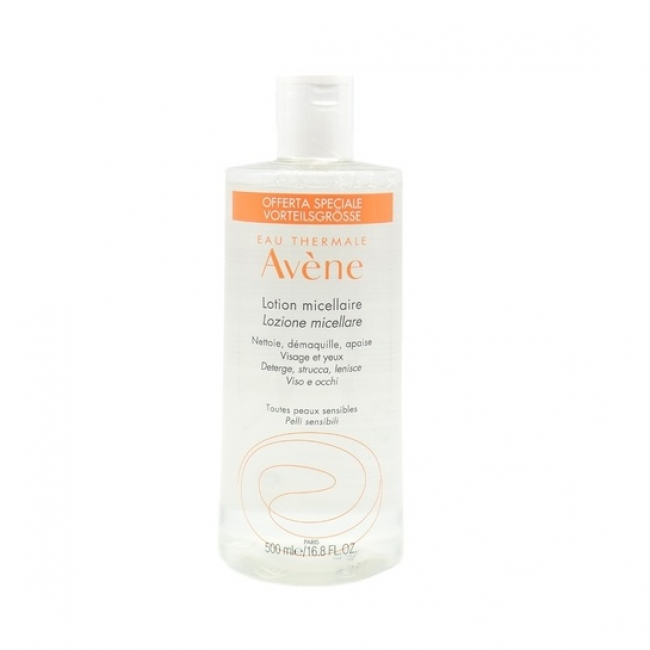 Avene Micellar Lotion for All Sensitive Skin 500ml