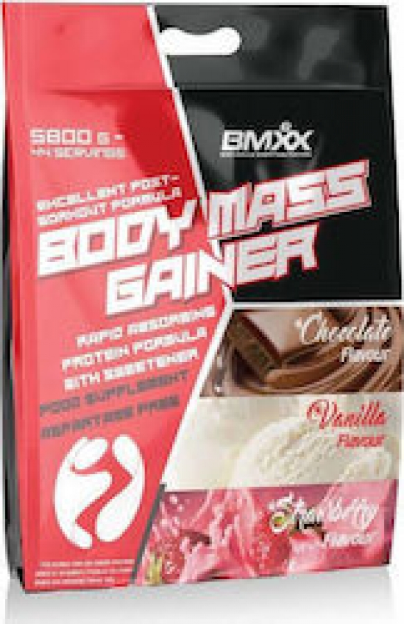 BMXX Body Mass Gainer 5800gr Βανίλια