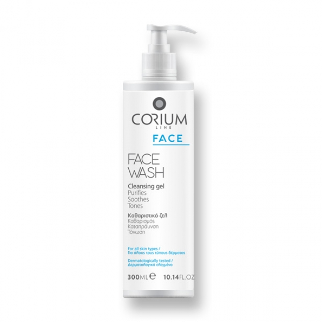 Corium Face Wash Cleansing Gel 300ml