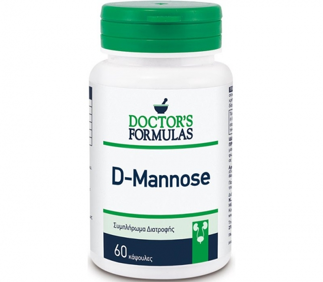 Doctor's Formulas D-Mannose , 60 δισκία