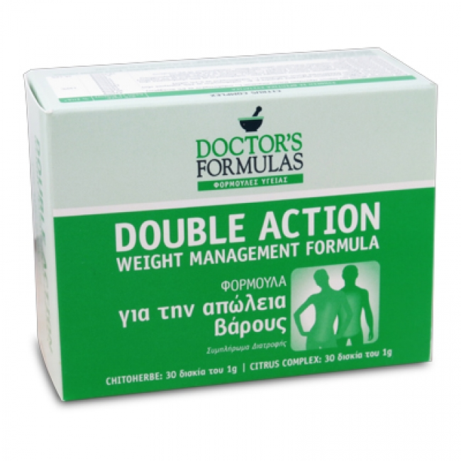 Doctor's Formulas Double Action Slim , 60 δισκία