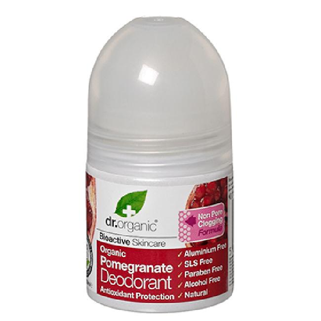 Dr. Organic Pomegranate Deodorant 50ml Αποσμητικό με Ρόδι