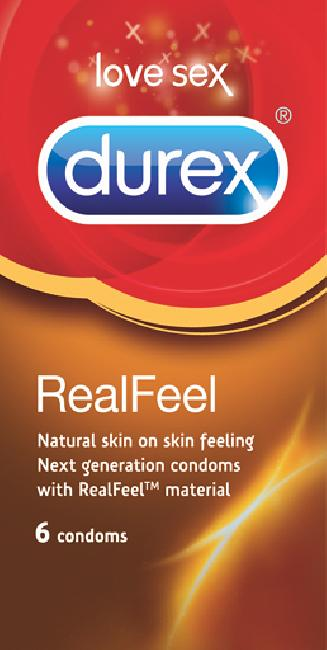 Durex Real Feel 6 Τεμάχια