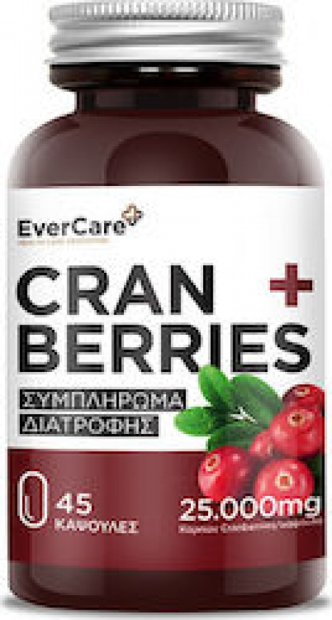 Evercare Cranberries 25000 mg, 45 caps