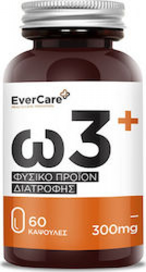 Evercare Omega 3 300 mg, 60 caps