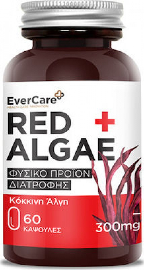 Evercare Red Algae 300mg, 60 κάψουλες
