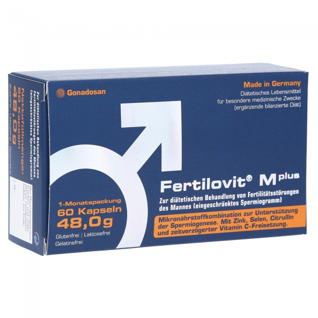 Fertilovit Male Plus , 60caps