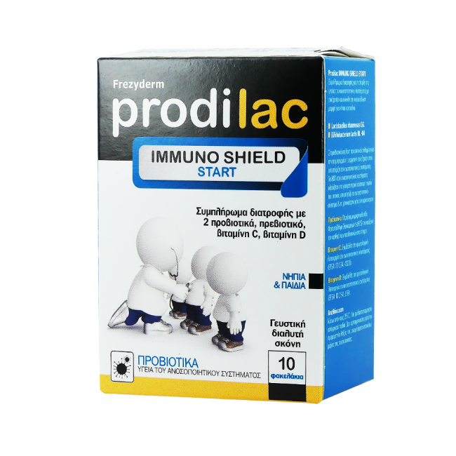 Frezyderm Prodilac Immuno Shield Start , 10 Φακελάκια