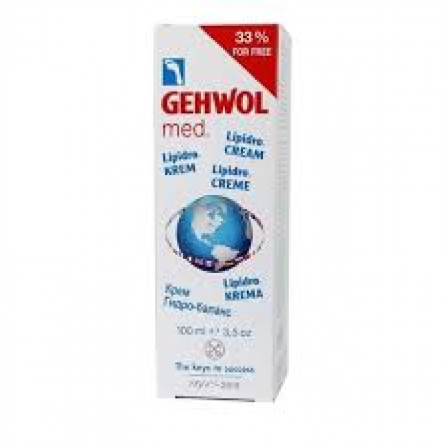 Gehwol Med Lipidro-Cream 100ml