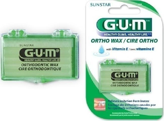 GUM ORTHODONTIC WAX, UNFLAVORED