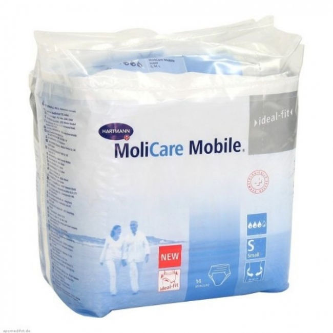Hartmann MoliCare Mobile - No. Small , 14 Τεμάχια