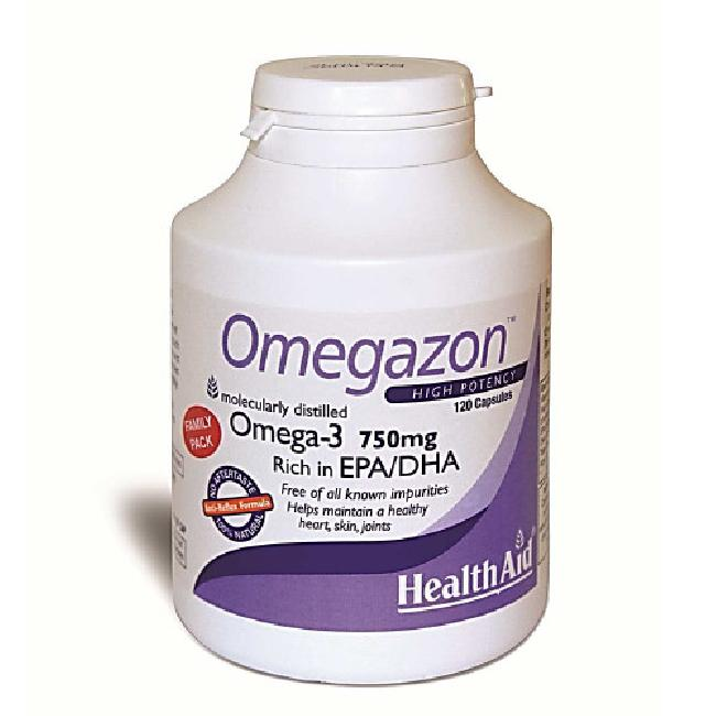 HEALTH AID OMEGAZON 750MG 120CAPS