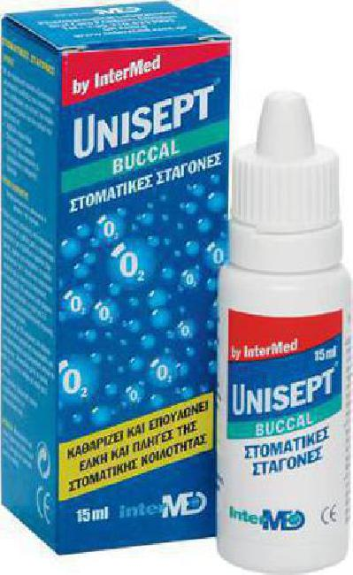 Intermed Unisept Buccal (Oromucosal) Drops, 15 Ml