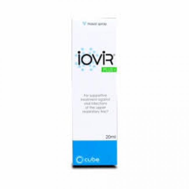 Iovir Plus Nasal Spray 20ml