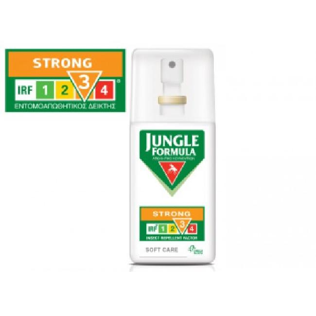 Jungle Formula Strong Soft Care Εντομοαπωθητικό Spray , 75ml