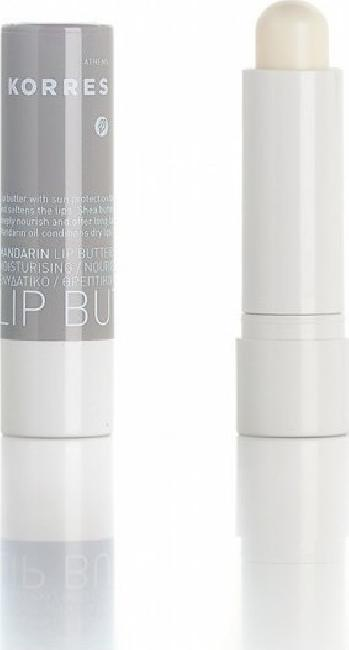 Korres Mandarin Lip Butter Stick 5ml, Colorless SPF15