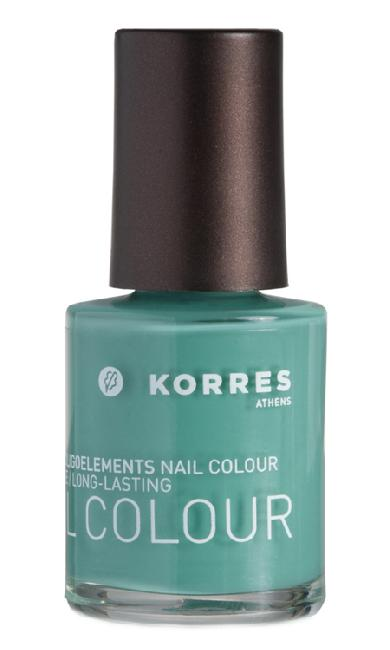 Korres Nail Colour 90 Pale Green, 10ml