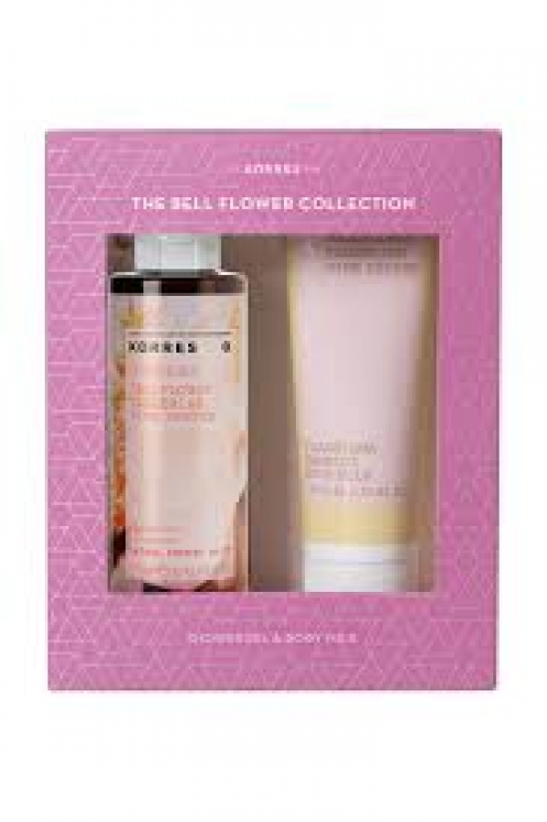 Korres Promo The Bell Flower Collection - Bellflower, Tangerine και Pink Pepper Αφρόλουτρο 250ml + Γαλάκτωμα Σώματος 125ml