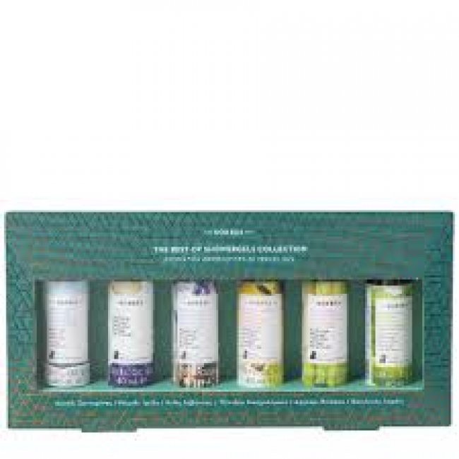 Korres Promo The Best Of Showergels Collection Travel Size 6x40ml