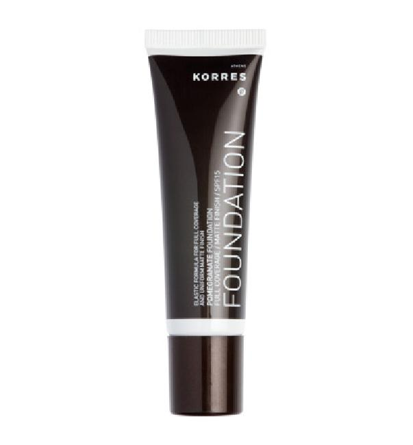 Korres Pomegranate Foundation SPF15 PF4 Make up Ρόδι, 30ml