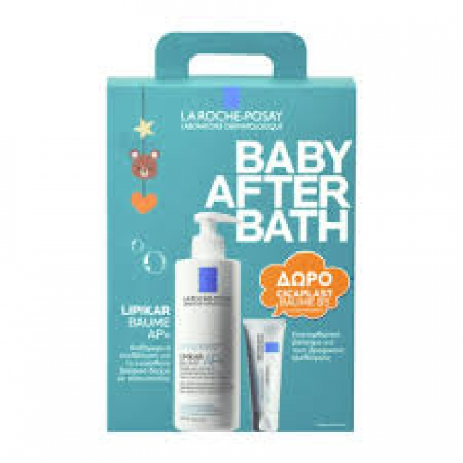 La Roche Posay Lipikar Baume AP+ 400ml After Baby Bath Και Δώρο Cicaplast Baume B5 15ml