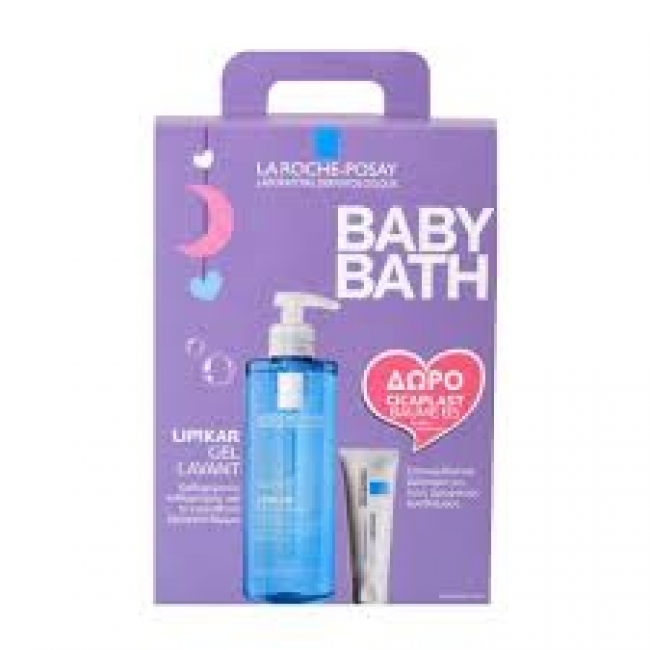 La Roche Posay Lipikar Gel Lavant 400ml After Baby Bath Και Δώρο Cicaplast Baume B5 15ml