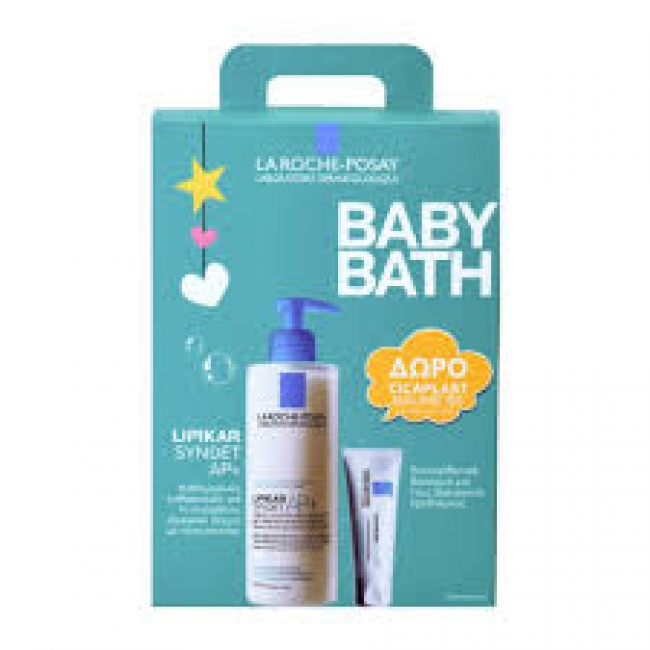 La Roche Posay Lipikar Syndet AP+ 400ml After Baby Bath Και Δώρο Cicaplast Baume B5 15ml