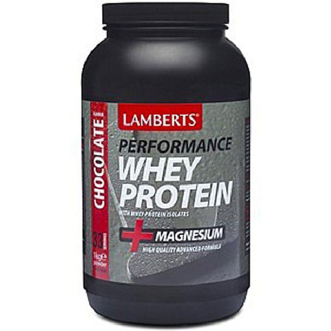 Lamberts Performance Whey Protein 1000gr Σοκολάτα