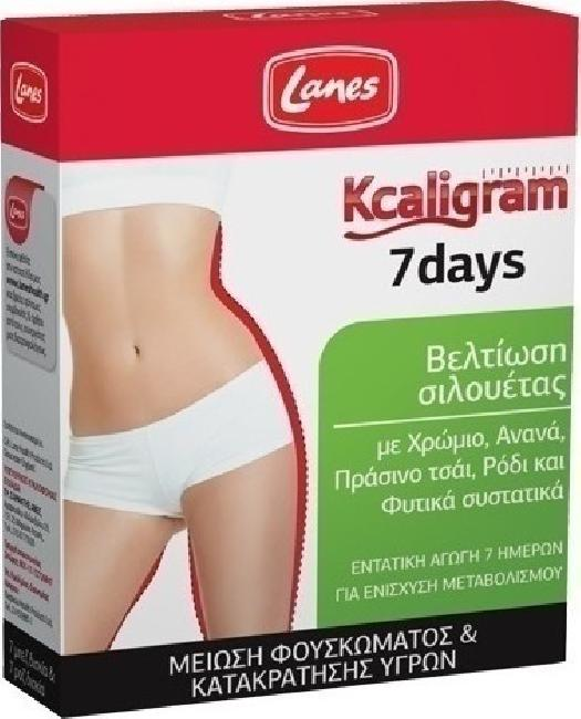 Lanes Kcaligram 7days, 14 tabs