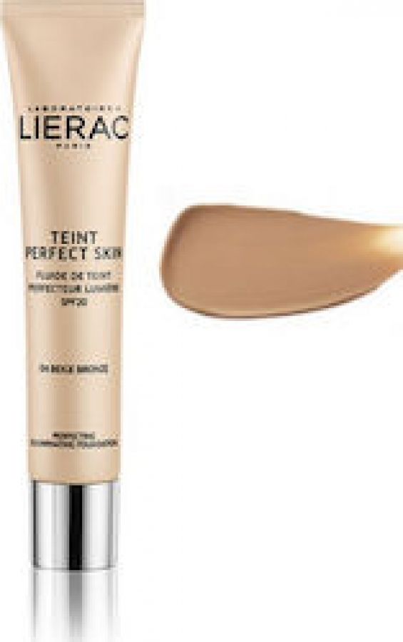 Lierac Teint Perfect Skin Illuminating Fluid SPF20 04 Bronze Beige 30ml