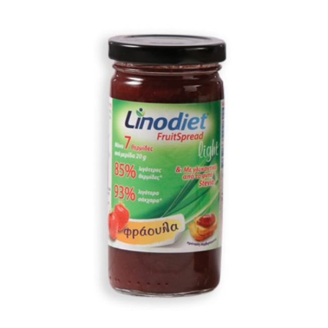 Linodiet Strawberry Fruit Light 260gr