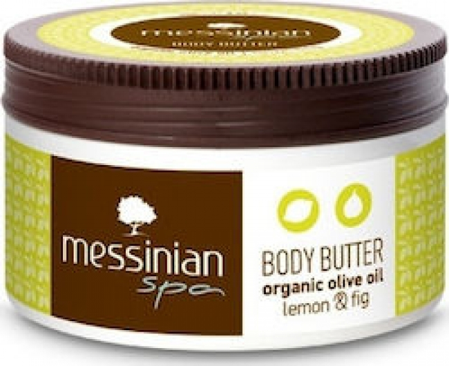 Messinian Spa Body Butter Lemon & Fig 80ml